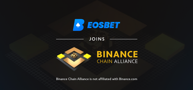 EOSBet / Binance Chain Alliance