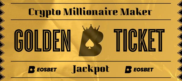 EOSBet Crypto Millionaire Maker