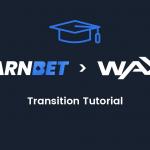 WAX 블록 체인 전환 튜토리얼