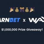 $ 1,000,000 상금을 위해 WAX와 파트너를 맺으십시오!