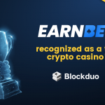 EarnBet Recognized as a Top 3 Cryptocurrency Casino