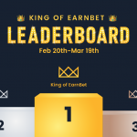 King of EarnBet Leaderboard 👑