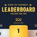 EarnBet排行榜冠軍爭奪賽 👑