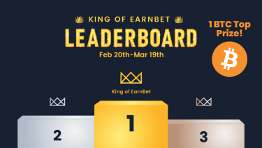 King of EarnBet Leaderboard