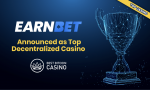 EarnBet Announced as Top Decentralized Casino