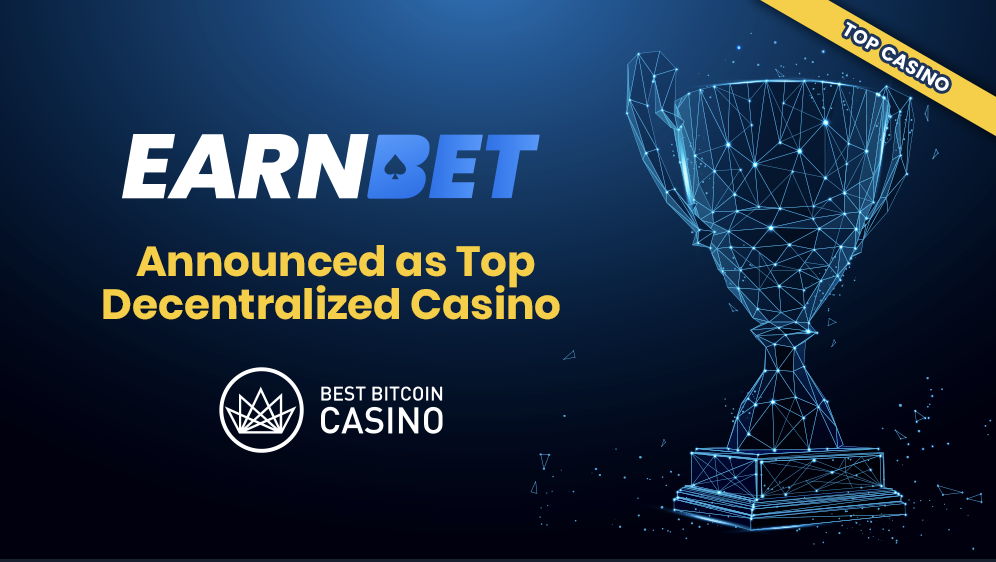 EarnBet被評為頂級去中心化賭場