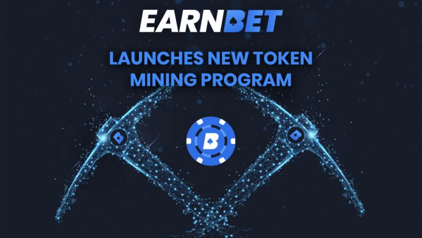 New EarnBet Token Mining Program