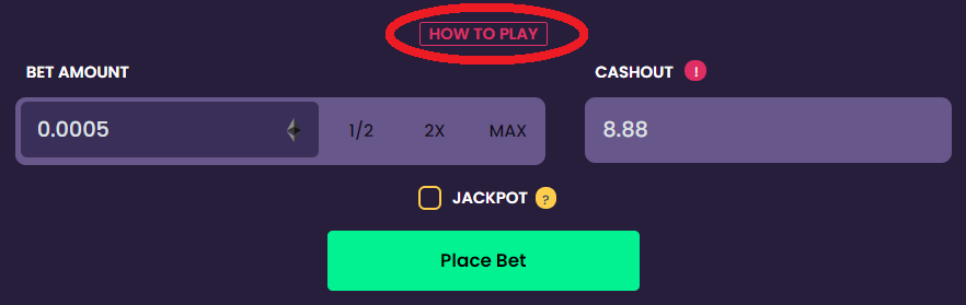 EarnBet Crash How To Play