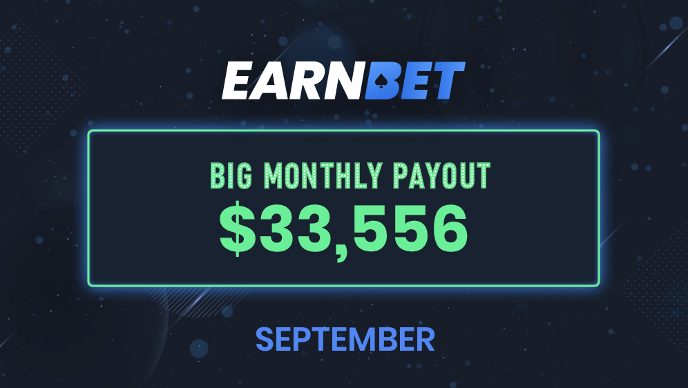 Big Monthly Payout – September 2020