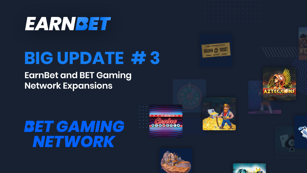 BIG UPDATE #3: What's Next for EarnBet and the BGN?