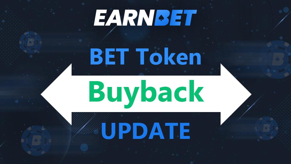 BET Token Buyback Update