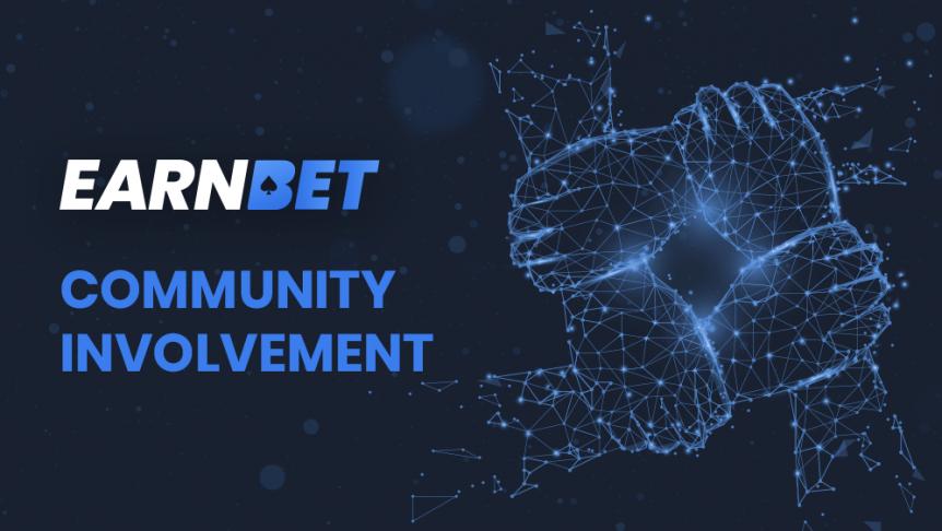 EarnBet Community Involvement